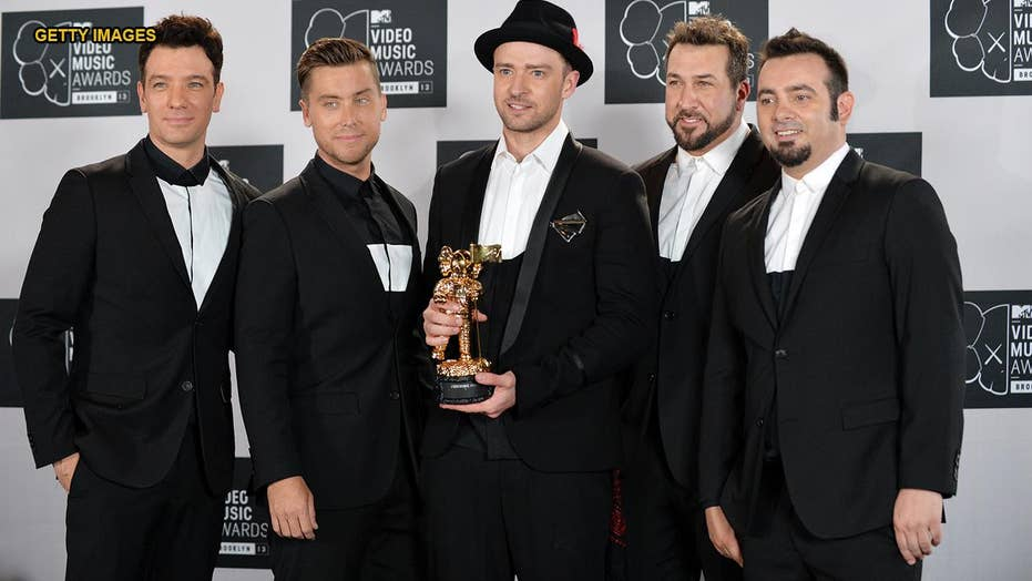 Joey Fatone says there's no NSYNC reunion being planned but 'never say never'