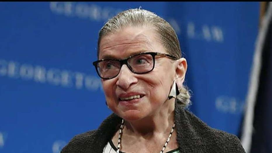 Supreme Court Justice Ruth Bader Ginsburg cancels planned appearance in New York City