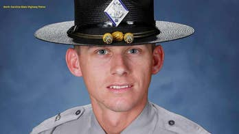 North Carolina nurse saved state trooper who was shot in face: 'God put me there'