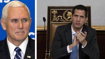 VP Pence offers support for opposition leader to Venezuelan president
