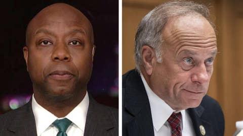 Sen. Scott on Steve King: Racism talk inside GOP hurt its message to Americans