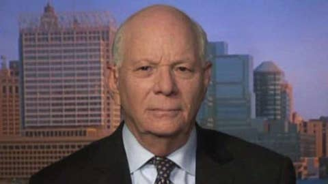 Sen. Ben Cardin says the first order of business is to reopen government