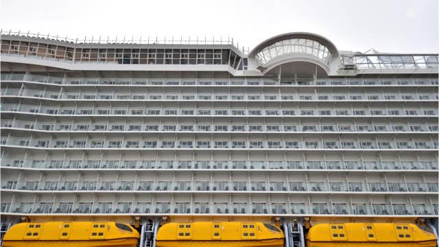 Watch this: Man jumps off side of cruise ship in stunt to impress friends