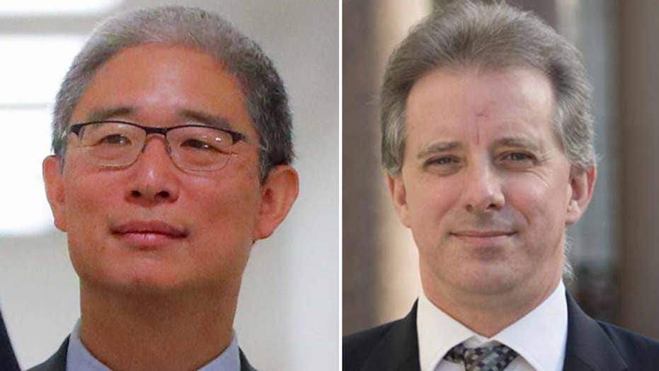 Image result for New details of 2016 meeting with Trump dossier author conflict with Dems' timeline