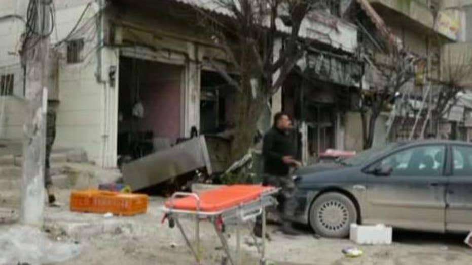 Four Americans killed in Syria bombing, ISIS claims responsibility