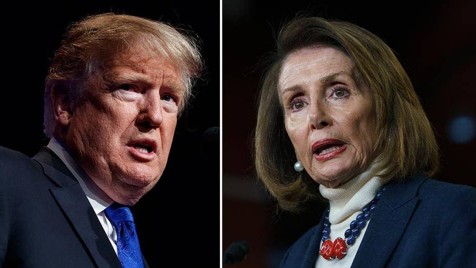 Trump denies government aircraft for Speaker Nancy Pelosi's overseas trip
