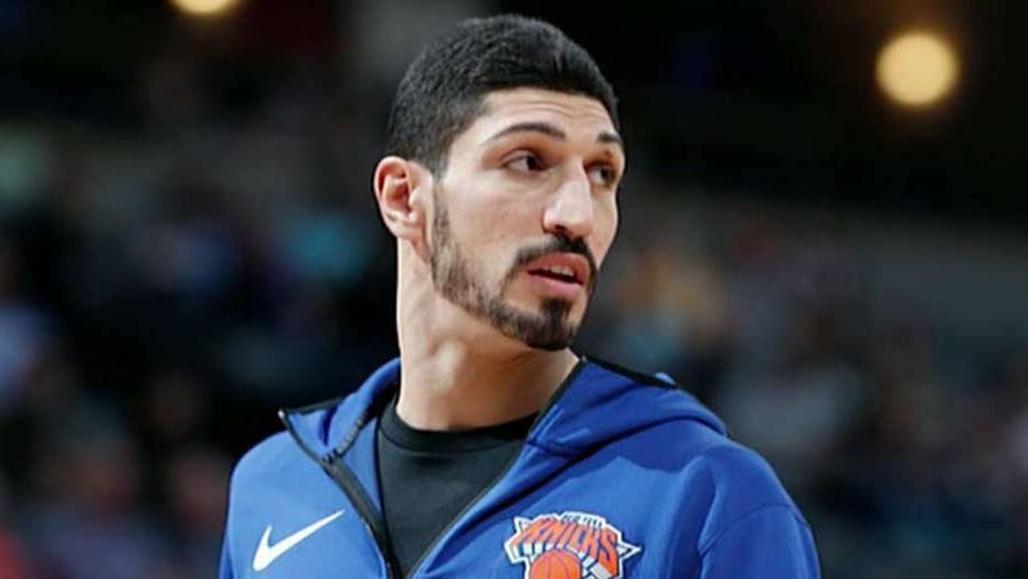 Basketball star declared 'enemy of the state' by Turkey, misses NBA in game in London