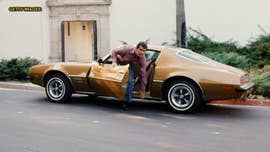 James Garner's 'Rockford Files' Pontiac Firebird is crossing the auction block