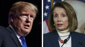 Border wall battle gets petty between Nancy Pelosi and President Trump