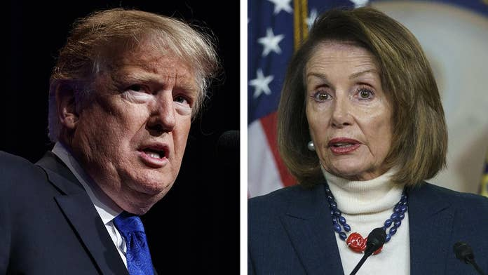 If Trump thinks Pelosi will back down when he counterpunches he's gonna be very surprised