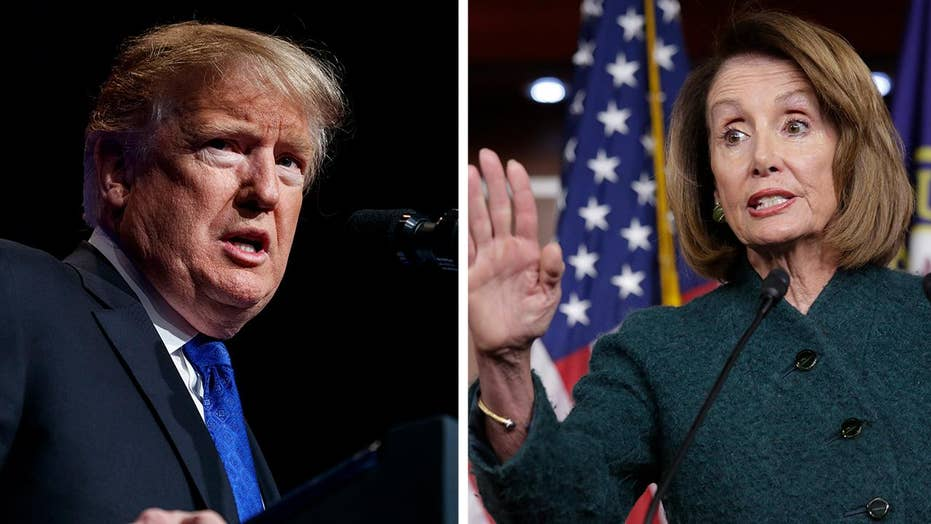 Trump urges Democrats to go around Pelosi to negotiate an end to the shutdown
