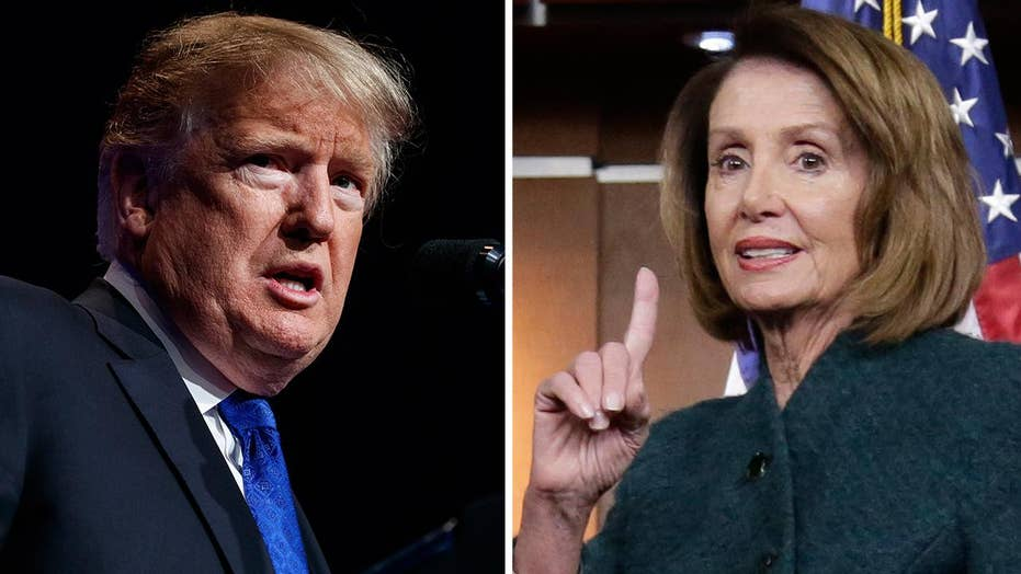 Media fawn over Pelosi's call for State of the Union delay but bash Trump for grounding her foreign trip