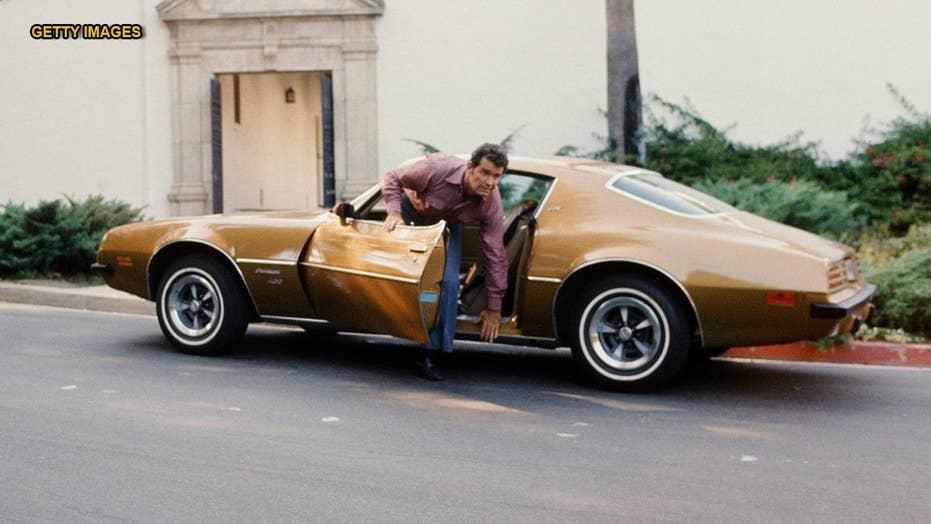 James Garner S Rockford Files Pontiac Firebird Is Crossing The