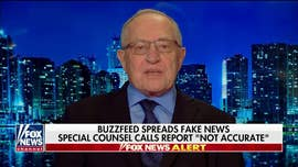 "Alan Dershowitz: BuzzFeed report (and Mueller rebuke) a vivid example of ""Get Trump"" media mindset"