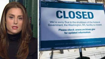 What is the economic impact of the partial government shutdown?