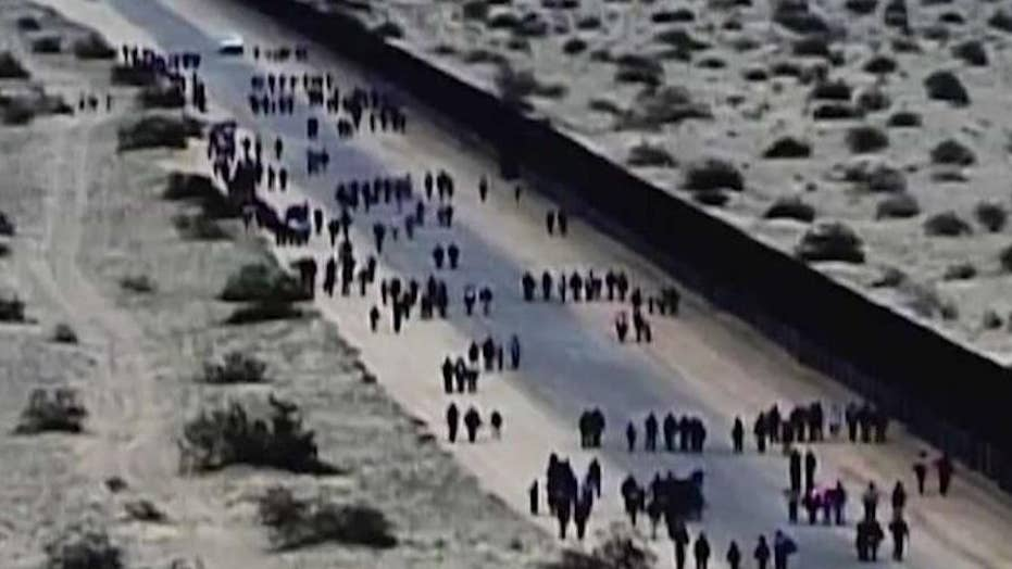How long would a wall along the southern border take to build?