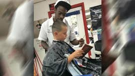 Barbershop launches reading initiative to build confidence in young customers