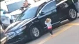 Tallahassee police respond to video of 2-year-old walking to officers with her hands in the air