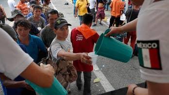 New migrant caravan makes way towards US