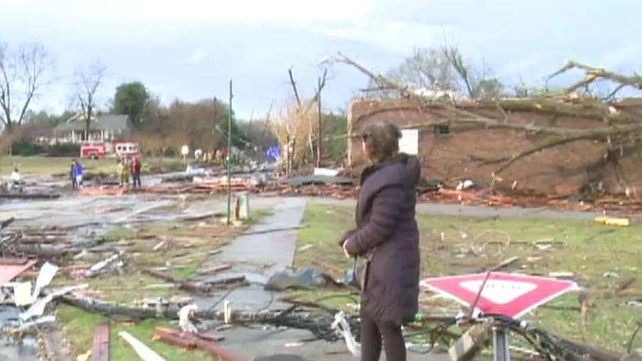 Extreme weather: Tornado rips through Alabama communities