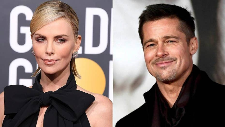 Charlize Theron and Brad Pitt dating after meeting through ...