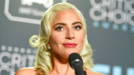 Lady Gaga falls off Las Vegas concert stage