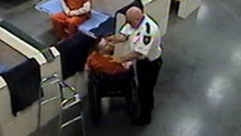 Florida sheriff's deputy fired after hitting wheelchair-bound inmate