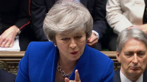 WATCH: Prime Minister Theresa May addresses parliament
