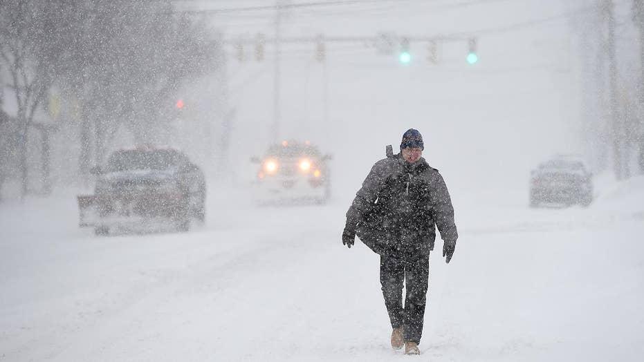 National forecast for Monday, January 21