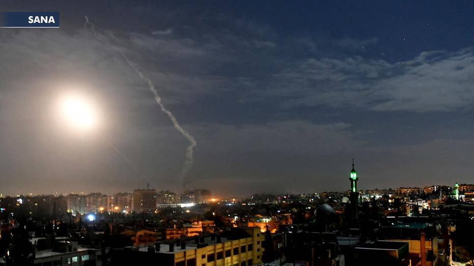 Israeli military confirms attack on Iranian-linked forces in Syria in response to rocket fired toward Israel