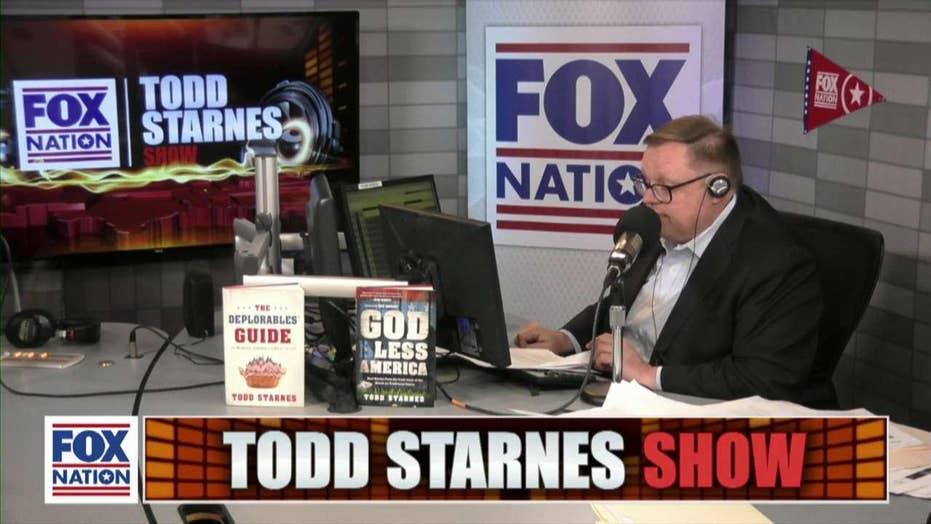 Todd Starnes and Rep. Thomas Massie