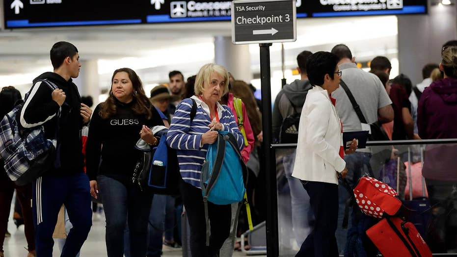 Thousands of flights delayed, canceled following weekend winter storm