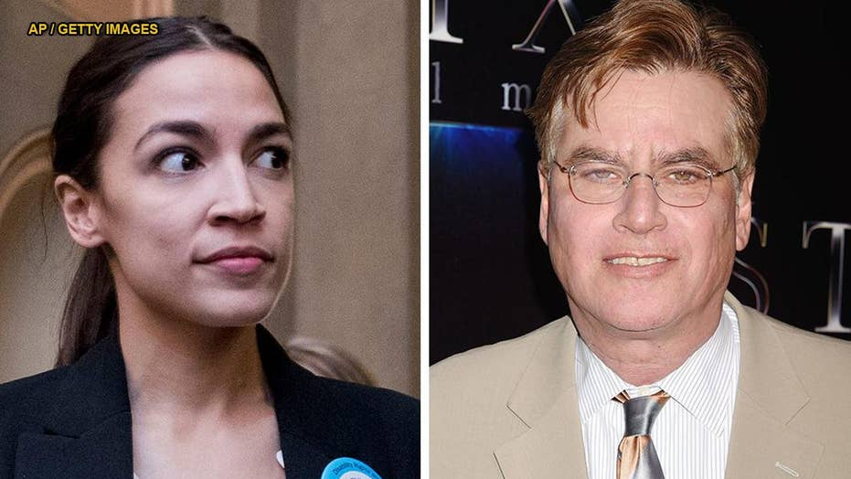 Aaron Sorkin responds after Alexandria Ocasio-Cortez calls him out for advice to Dems