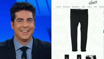 Clothing company names a pair of pants after Jesse Watters