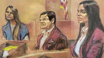 El Chapo, wife wear matching outfits as mistress returns to the stand