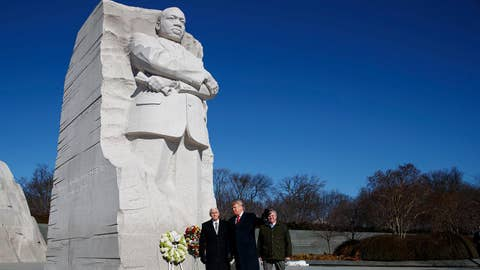 Dems use legacy of Martin Luther King Jr. to attack Trump