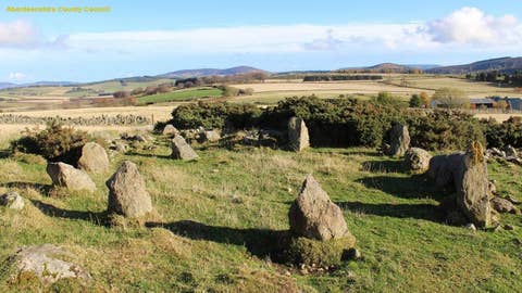 Ancient stone circle found in Scotland isn't in fact ancient