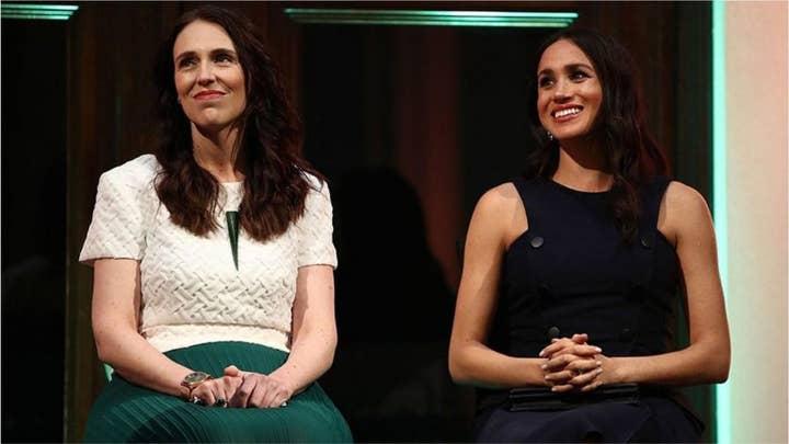 Meghan Markle held a secret meeting with New Zealand Prime Minister Jacinda Ardern