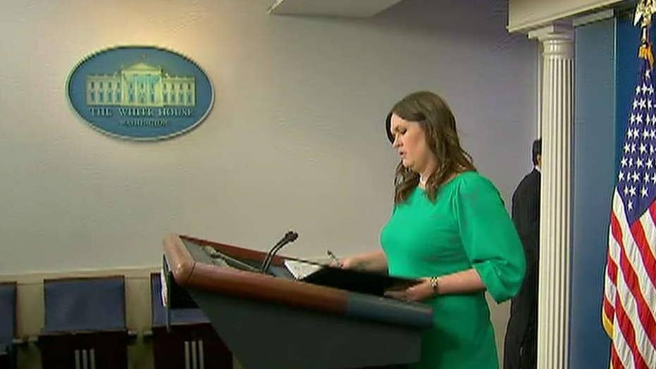 White House addresses absence of formal press briefings