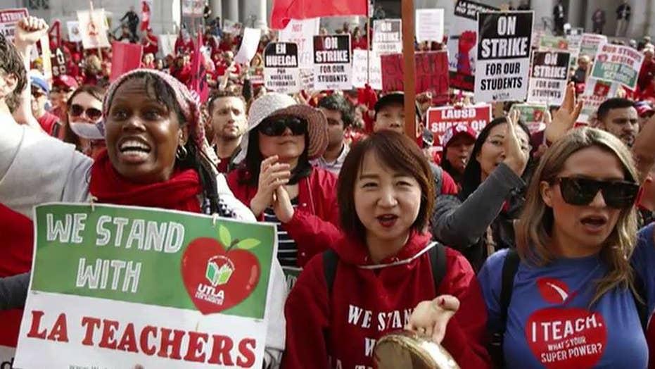 Mayor Garcetti announces tentative deal to end Los Angeles teachers strike