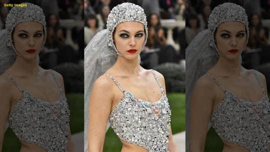 Chanel debuts 'wedding dress'-inspired swimsuit during Paris Fashion Week