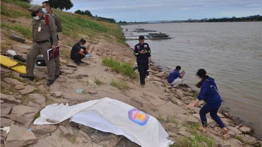 Concrete-filled bodies from Thailand river were missing activists