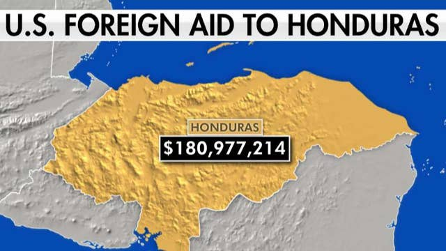 US gave millions of dollars to Honduras, Guatemala, El Salvador yet thousands of migrants flee as 'economic refugees'