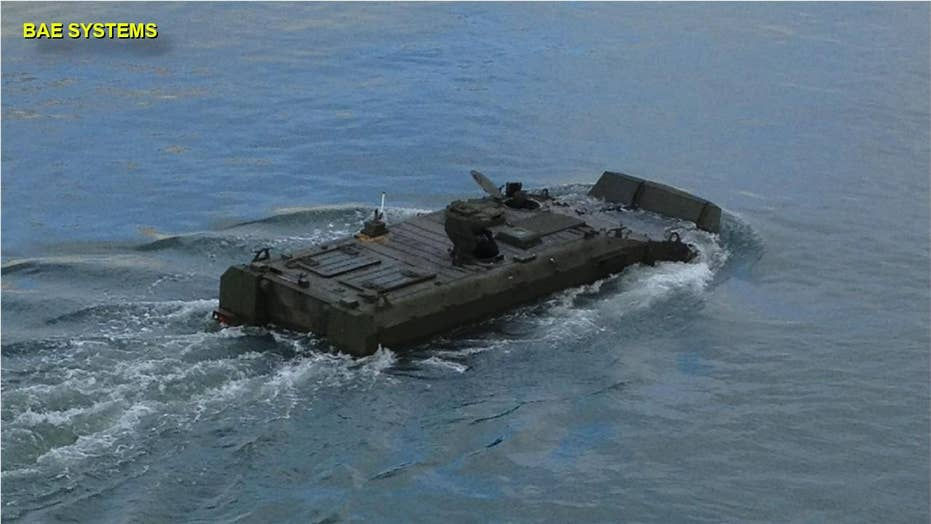 Marine Corps unveils new amphibious combat craft for 'deep strikes'