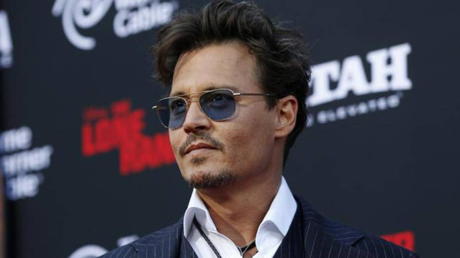 Johnny Depp fights back; big names missing from Oscar nominations