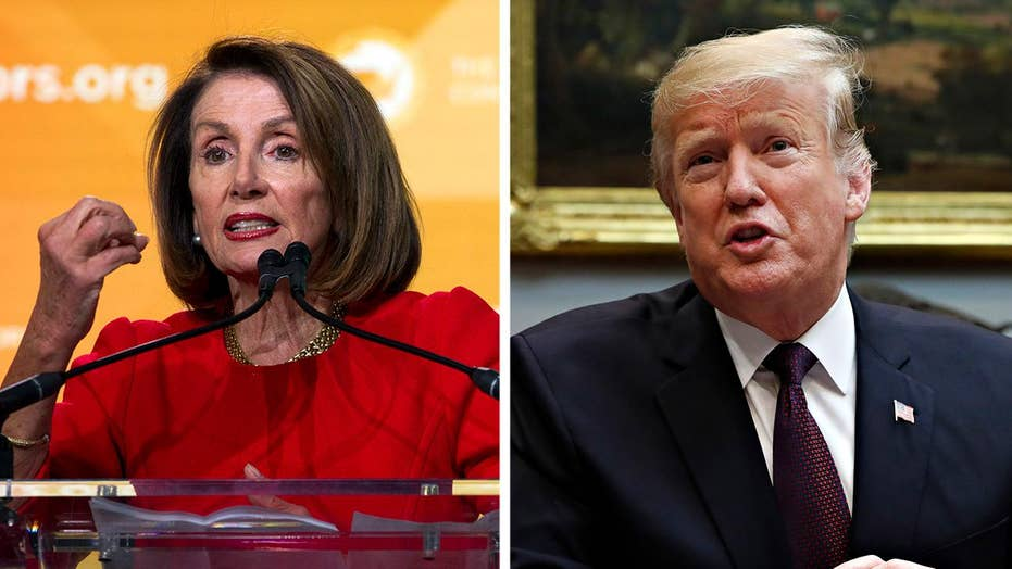 Trump says Pelosi's decision not to allow the State of the Union to proceed in the House chamber sets a horrible precedent