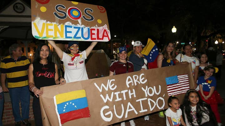 Tension, unrest in Venezuela as opposition leader declares himself president