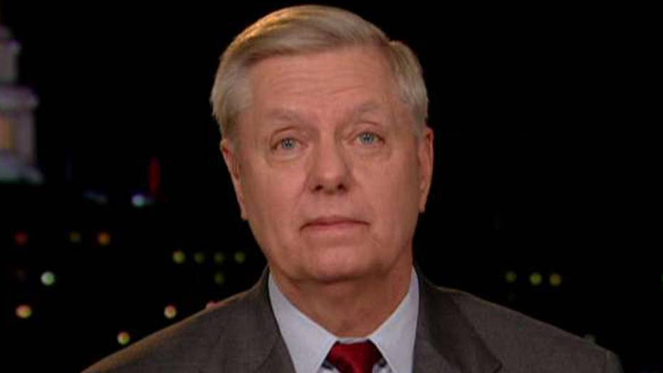 Sen. Graham slams Nancy Pelosi for being 'absurd, petty, and shameful'