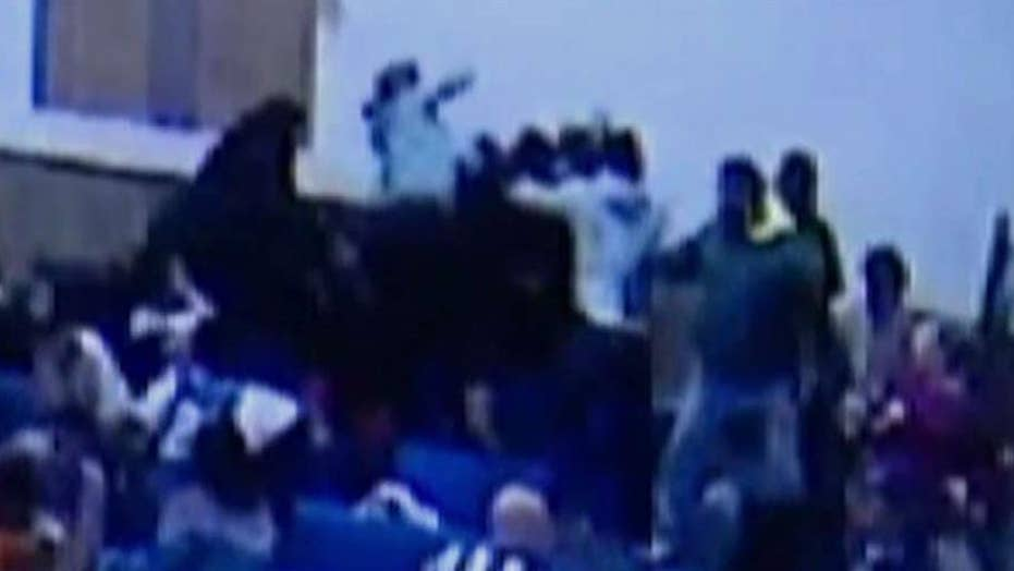 Brawl breaks out in stands at NJ middle school basketball game