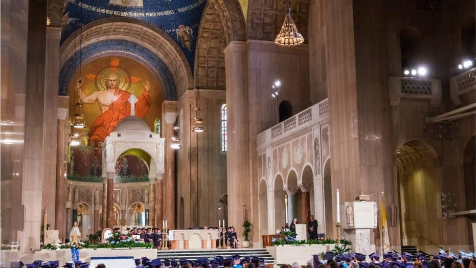 National Shrine confirms report that Native American activist allegedly tried to disrupt Mass
